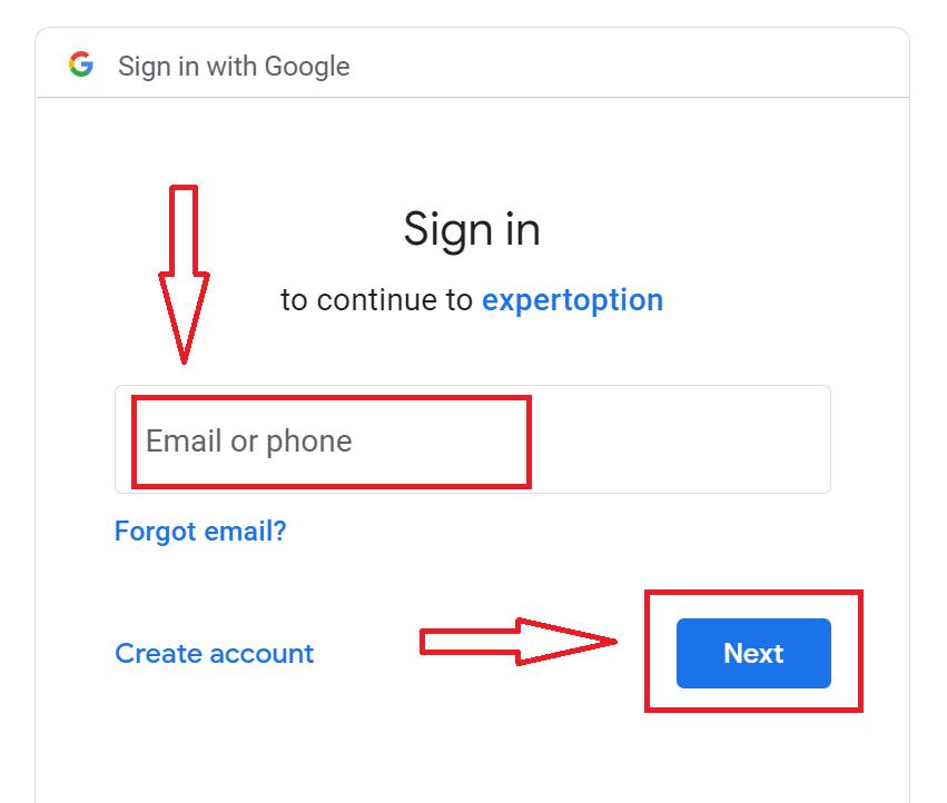 ExpertOptionでデモアカウントを開く方法