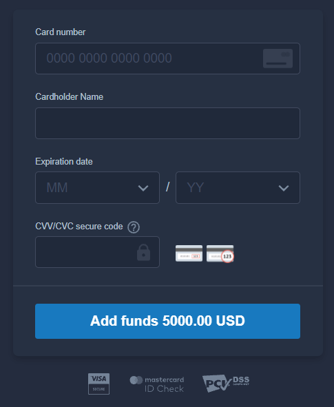ExpertOptionでサインアップしてお金を入金する方法